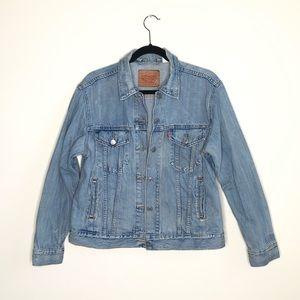 Levi's Ex-boyfriend trucker denim jacket